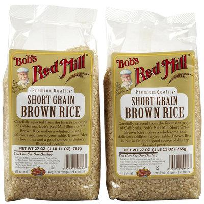 Bob's Red Mill Short Grain Brown Rice - 2 pk.