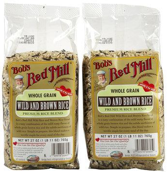 Bob's Red Mill Wild/Brown Rice Mix, 27 oz, 2 pk