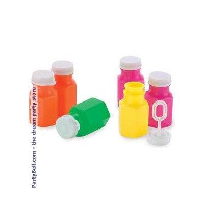 Rhode Island Novelties 168948 Bubble Bottles Asst- 24 count