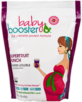 Baby Booster - The Prenatal Protein Formula Superfruit Punch - 1 lb.