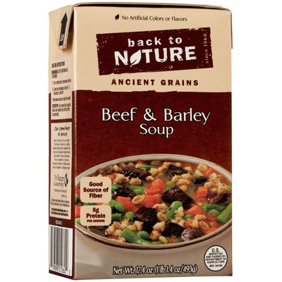Back To Nature 17.4 oz. Soup Beef Barley Case Of 6