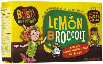 Bitsy's Brainfood Lemon Broccoli Smart Snacks - 1 ct.