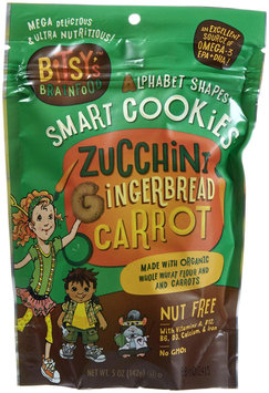 Bitsy's Brainfood - Smart Cookies Zucchini Gingerbread Carrot - 5 oz. LUCKY PRICE