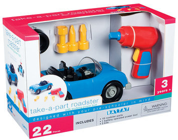 Accoutrements Battat Take-a-Part Roadster Play Set