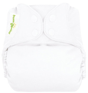 BumGenius 4.0 One-Size Cloth Diaper - Snap - White - 1 ct.