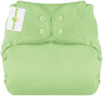 BumGenius Elemental All in One Cloth Diaper - Snap - Grasshopper