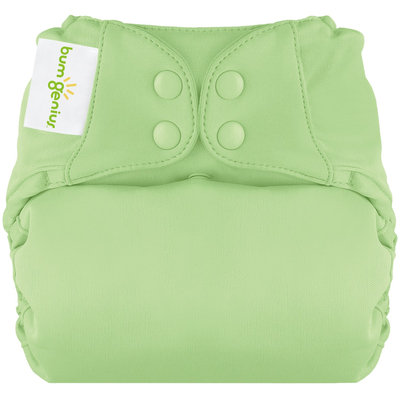 BumGenius Elemental All in One Cloth Diaper - Snap - Grasshopper