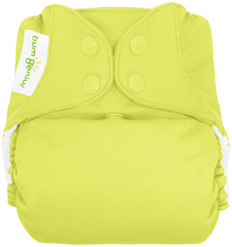 BumGenius Elemental All in One Cloth Diaper - Jolly (Citron Green) - 1 ct.