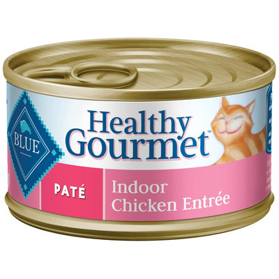 Blue Buffalo Adult Indoor Pate - Chicken Entree - 24 x 3 oz 75
