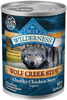 Blue Buffalo Wilderness Grain Free Wolf Creek Stews - Chicken -12 x 12.5 oz 150