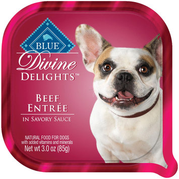 THE BLUE BUFFALO CO. BLUE™ Divine Delights® Beef in Sauce Wet Dog Food