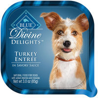 THE BLUE BUFFALO CO. BLUE™ Divine Delights® Turkey in Sauce Wet Dog Food