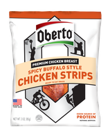 Oberto® Spicy Buffalo Style Chicken Strips