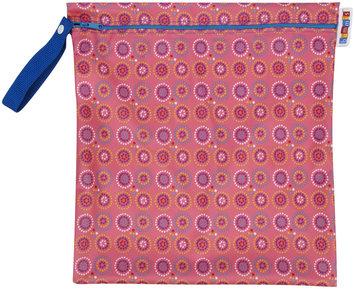 Bummis Fabulous Organic Wet Diaper Bag, Pink, Medium