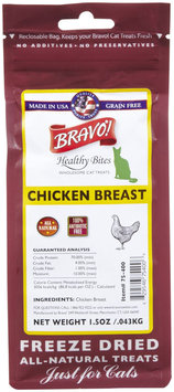 Bravo! Healthy Bites Treats - Chicken Breast - 1.5 oz
