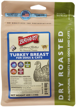 Bravo! Bonus Bites Treat Dry Roasted Turkey 4 oz