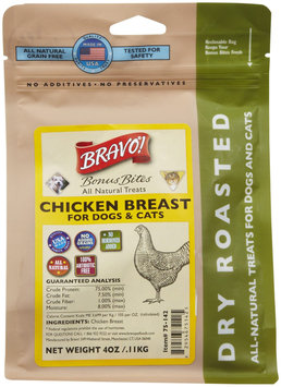 Bravo! Bonus Bites Dry Roasted Treats - Chicken Strips - 4 oz