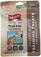 Bravo! Premium Freeze-Dried Training Treats for Dogs - Trail Mix - 4 oz
