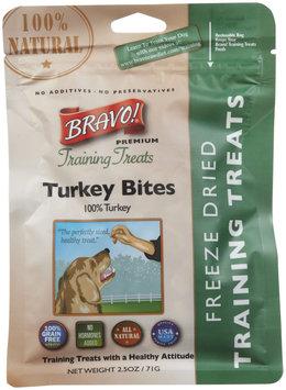 Bravo! Premium Freeze-Dried Training Treats for Dogs - Turkey - 2.5 oz