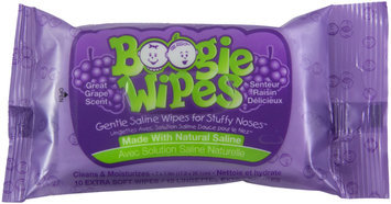 Boogie Wipes Great Grape - 10 Count Pack