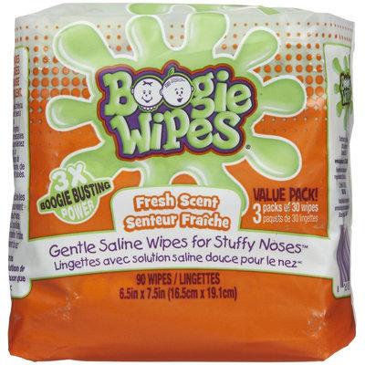 Boogie Wipes Gentle Saline Wipes - Fresh Scent - 90 ct