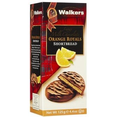 Walker's Walkers Chocolate Orange Royals Shortbread, 4.4 oz