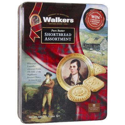 Walker's Walkers Robert Burns (Assorted) Gift Tin