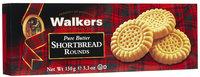 Walker's Walkers Classic Shortbread Rounds, 5.3 oz, 12 pk