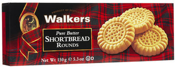Walker's Walkers Classic Shortbread Rounds, 5.3 oz, 12 pk
