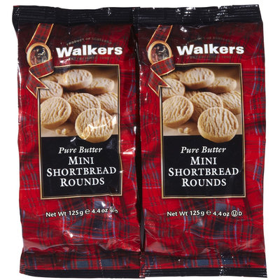 Walker's Walkers Mini Shortbread Rounds - 4.4 oz - 1 ct, - 2 pk.