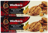 Walker's Walkers Stem Ginger Cookies, 5.3 oz