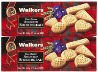 Walker's Walkers Classic Shortbread Mini Assorted, 5.6 oz - 2 pk.