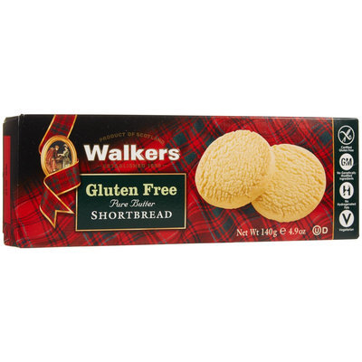 Walker's Shortbread COOKIES, SHORTBREAD RND, GF, (Pack of 6)