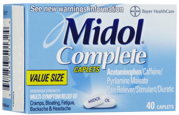 Midol Complete Caplets for Menstrual Pain Relief