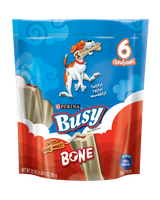 PURINA® Busy Bone Real Meat For Small To Medium Dogs