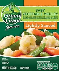 Green Giant® Steamers Baby Vegetable Medley
