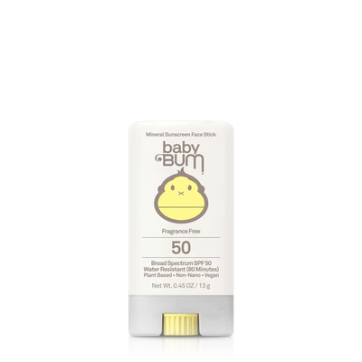 Sun Bum Baby Bum SPF 50 Mineral Face Stick Fragrance Free