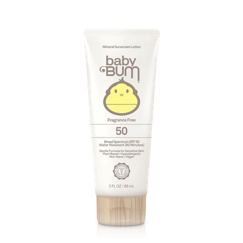 Sun Bum Baby Bum SPF 50 Mineral Sunscreen Lotion Fragrance Free