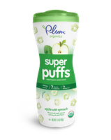 Plum Organics Super Puffs® Super Greens: Apple With Spinach