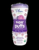 Plum Organics Super Puffs® Super Purples: Blueberry With Purple Sweet Potato