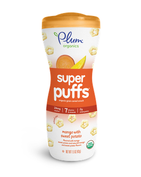 Plum Organics Super Puffs® Super Orange: Mango With Sweet Potato