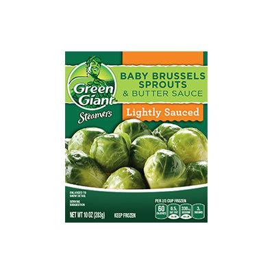Green Giant® Steamers Baby Brussels Sprouts & Butter Sauce