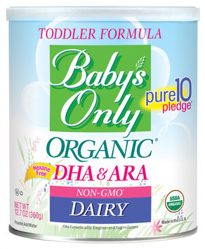 Baby's Only Organic® Dairy DHA/ARA Formula