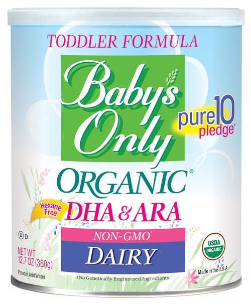Baby's Only Organic® Dairy DHA/ARA Formula