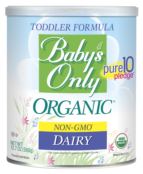 Baby's Only Organic® Dairy Formula