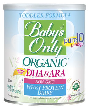 Baby's Only Organic® Dairy Whey DHA/ARA Formula