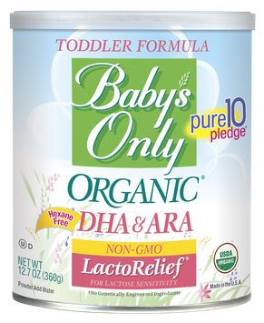 Baby's Only Organic® LactoRelief® DHA/ARA Formula