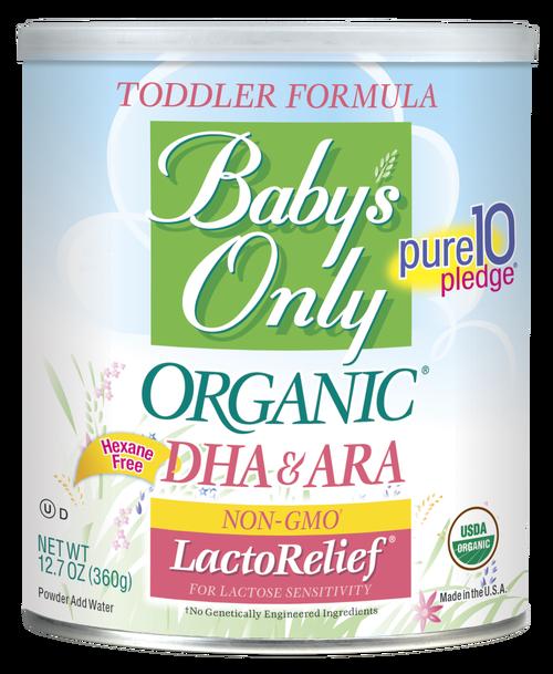 Baby's Only Organic® LactoRelief® DHA/ARA Formula