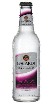 Bacardi Silver Premium Raz Malt Beverage