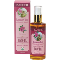 Badger Balm Damascus Rose Body Oil